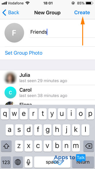 Tutorial on using Telegram on iPhones and Android smartphones