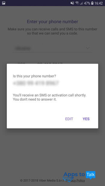 A guide on how to install and use Viber on Android phones