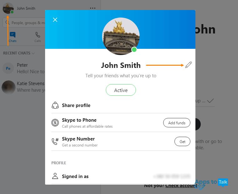 Where do i find my skype id